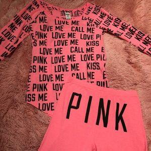 Victoria's Secret PINK PJ Set